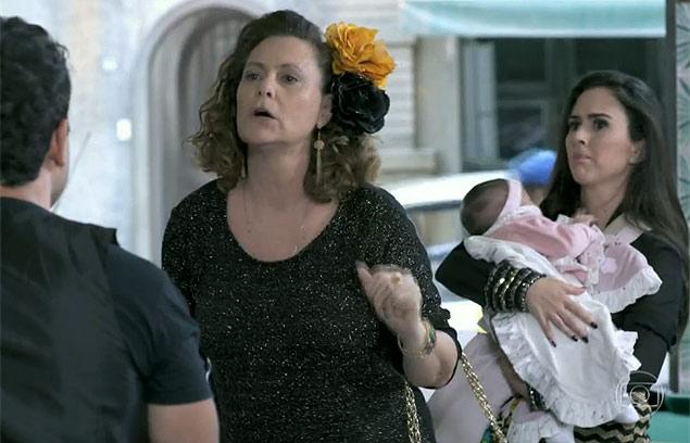 Em 'Amor à Vida', personagens discutem sobre certidão (Crédito: Reprodução/TV Globo)