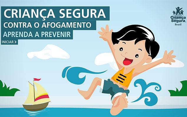 ONC Criança Segura ensina a prevenir acidentes na água