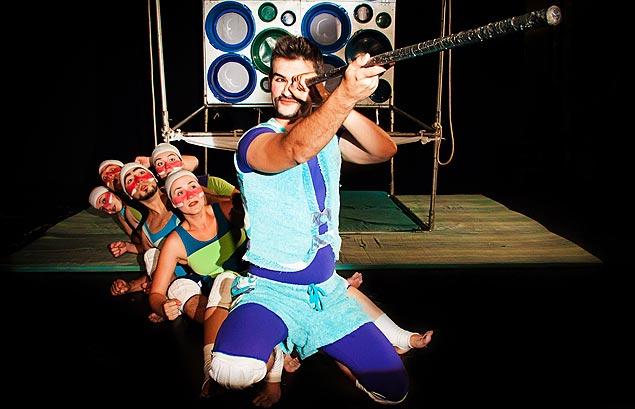 Peça 'Simbá, o Marujo', no Sec Santana (Divulgação)