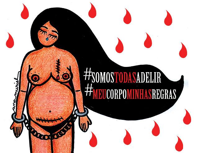 Imagem que será usada no protesto contra o caso Torres