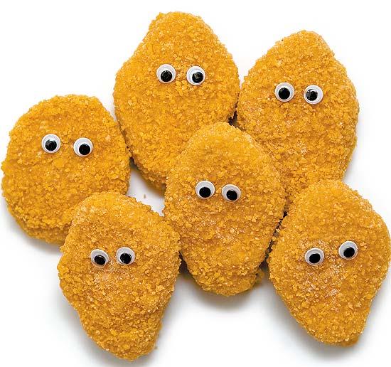 Nuggets deve ser substituído por frango convencional nas refeições (Foto: Letícia Moreira/Folhapress)
