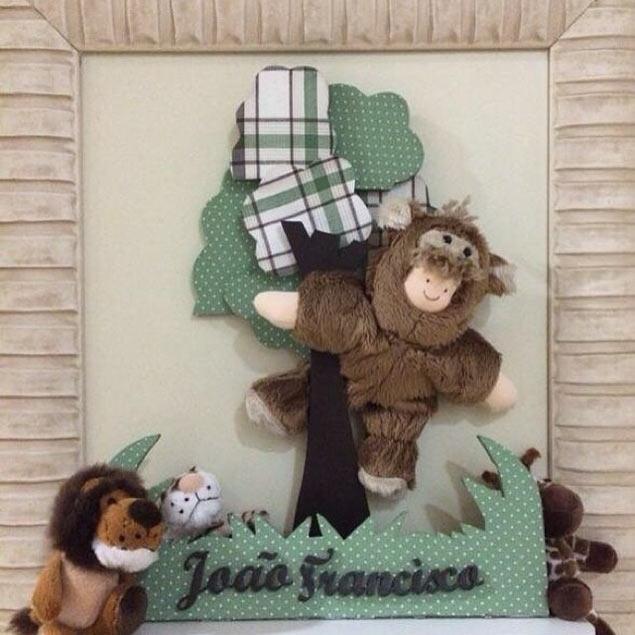 Enfeite de porta de João Francisco na maternidade (Foto: Reprodução/Instagram/Wanessaoficial)