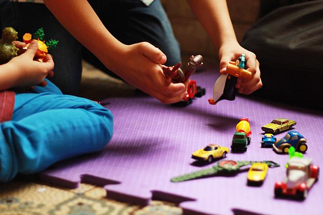 Feira de troca permite ter brinquedo 'novo' sem gastar nada (Foto: Divulgação)