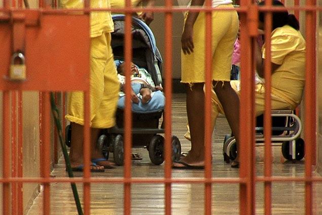 Presidiárias têm o direito de ficar seis meses com o bebê (Foto: Divulgação)