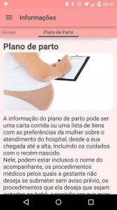 Aplicativo ensina mulher a fazer o plano de parto (Foto: Reprodução)