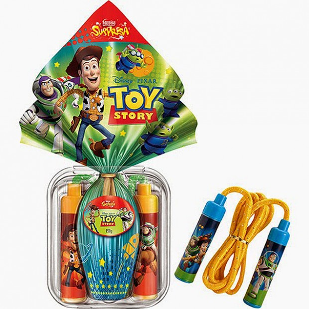 Procon-SP encontrou variação de 81% no preço do ovo de Páscoa Toy Story da Nestlé (Foto: Reprodução)