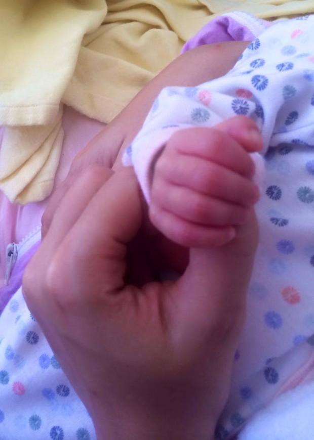 Padilha posta foto da filha Melissa (Foto: Reprodução/Facebook)