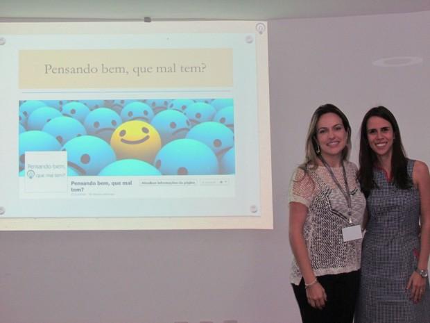As psicólogas Thaís e Patrícia criaram treinamento para pais (Foto: Arquivo Pessoal)