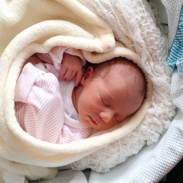 A pequena Ana, que nasceu no dia 7 de Setembro (Arquivo Pessoal)