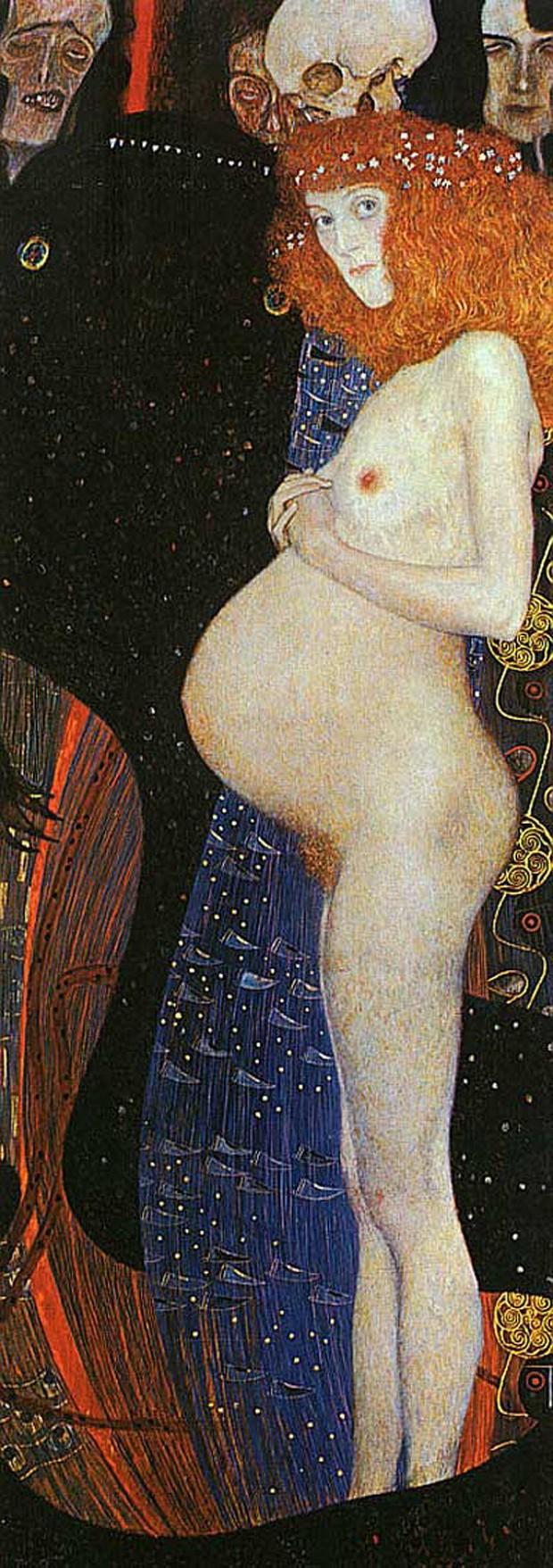 The Hope 1 (1903) - Klimt - National Gallery of Art   Ottawa (Reprodução)
