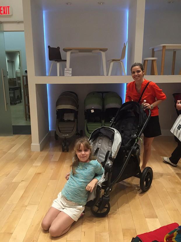 Camila montou o enxoval para gêmeos em 3 horas (Foto: Divulgação)
