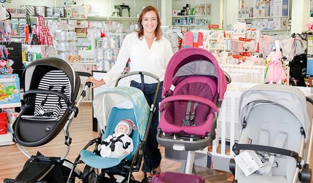 Priscila Goldenberg diz que percebeu a dificuldade das grávidas para comprar enxoval nos EUA (Arquivo Pessoal)