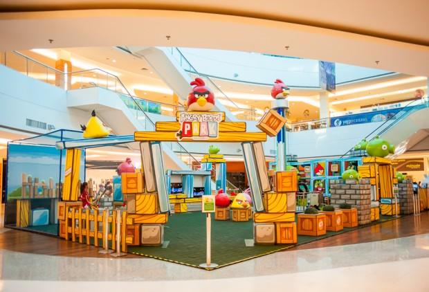 Espaço Angry Birds no Granja Vianna (Divulgação)
