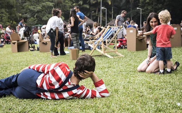 Domingo é dia de Slowkids no parque da Independência (Folhapress)