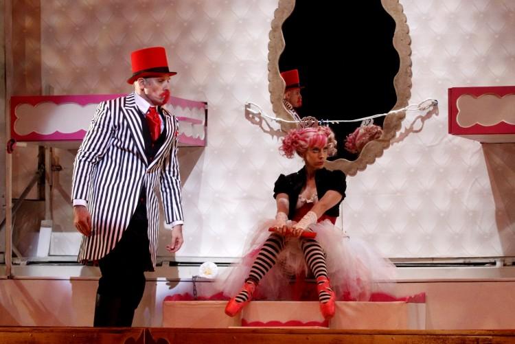 Cena de 'O Palhaço e a Bailarina' (Divulgação)