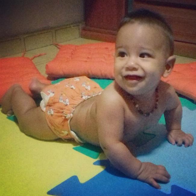 Raul, 6 meses, filho de Camila