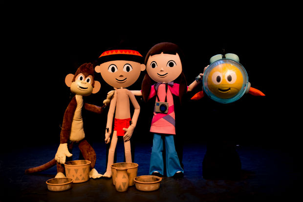 Peixonauta no Teatro (Fotos:  Mariana Aquino)