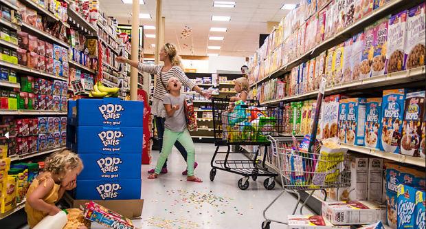 Ir ao mercado pode não ser tão legal com crianças (Danielle Guenther/danielleguentherphotography.com)