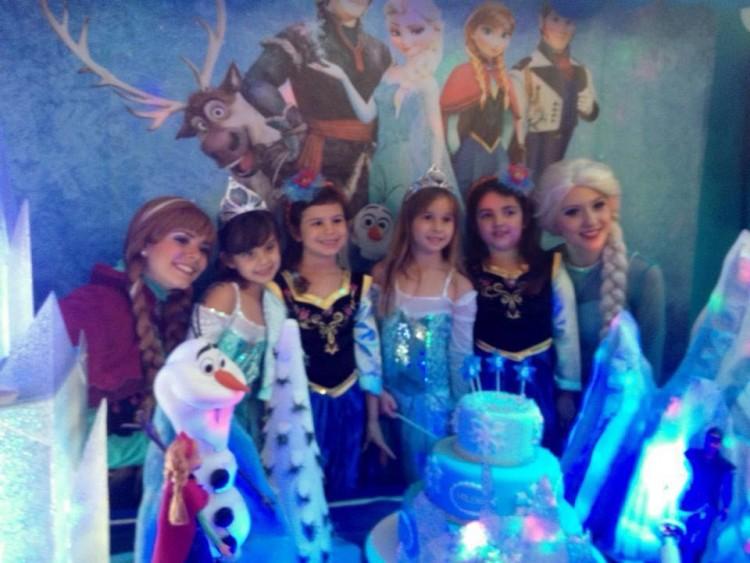 Festa de 6 anos de Helena e suas três amiguinhas (Arquivo Pessoal)