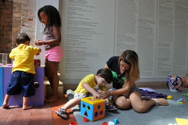 PinaFamília, atividade da Pinacoteca (Christin Rufatto/Divulgação)