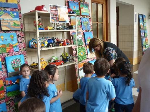 Crianças do Colégio Marista doam brinquedos para campanha (Divulgação)