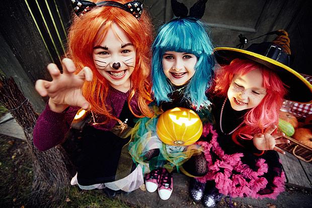 Fantasie as crianças e vá brincar o Halloween (Crédito: Fotolia)