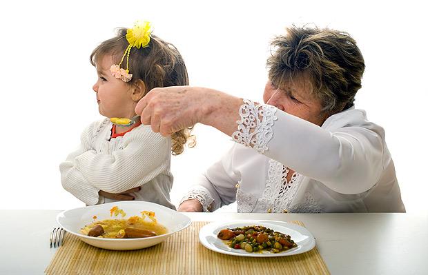 Pais não devem insistir: se a criança não quer, não quer (Fotolia)