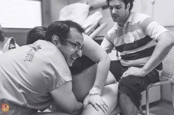 O obstetra Victor Rodrigues, especializado em partos humanizados (Foto: Elis Freitas)