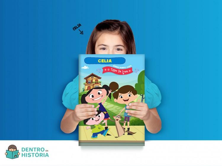 Capa de um dos livros personalizados (Divulgação)