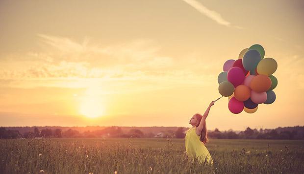 Balões para festejar o encerramento desse ciclo (Fotolia)
